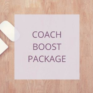 coach boost package