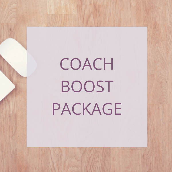 COACH – BOOST PACKAGE