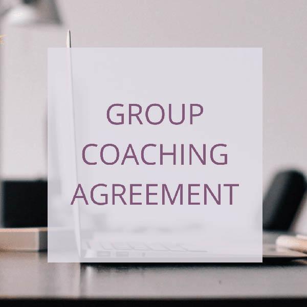 COACH – GROUP COACHING AGREEMENT