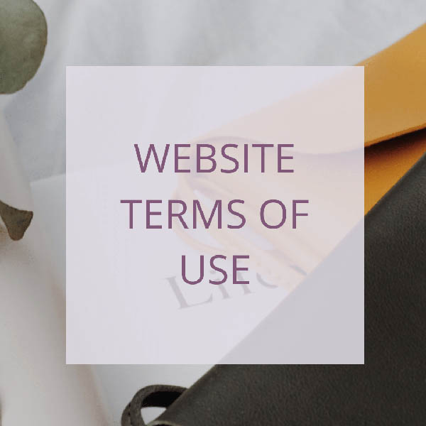 COACH – WEBSITE TERMS OF USE